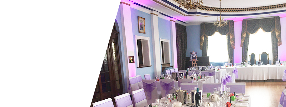 An idyllic room for your wedding reception for your wedding reception